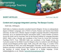 Spain - Content and Language Integrated Learning: The Basque Country